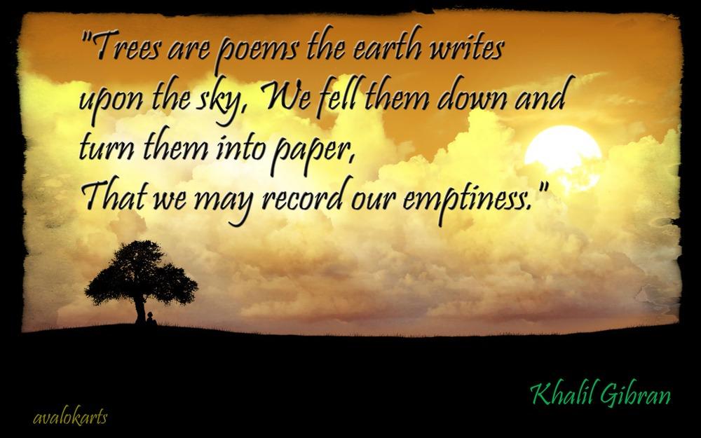 Quote Wallpaper Khalil Gibran Avalokarts